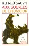 """Couverture du livre : """"Aux sources de l'humour"""""""