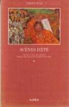 """Couverture du livre : """"Scènes d'été"""""""