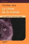 """Couverture du livre : """"Le crime de la momie"""""""