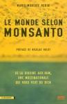"""Couverture du livre : """"Le monde selon Monsanto"""""""