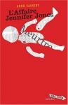 """Couverture du livre : """"L'affaire Jennifer Jones"""""""