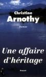 """Couverture du livre : """"Une affaire d'héritage"""""""