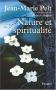 """Couverture du livre : """"Nature et spiritualité"""""""