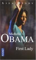 "Couverture du livre : ""Michelle Obama, first lady"""