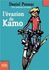 """Couverture du livre : """"L'évasion de Kamo"""""""
