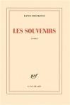 """Couverture du livre : """"Les souvenirs"""""""