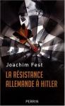"""Couverture du livre : """"La résistance allemande à Hitler"""""""