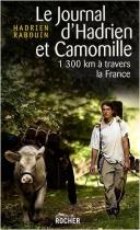 """Couverture du livre : """"Le journal d'Hadrien et Camomille"""""""