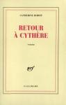 """Couverture du livre : """"Retour à Cythère"""""""