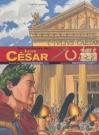 """Couverture du livre : """"Sur les traces de Jules César"""""""