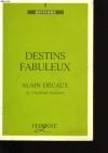 """Couverture du livre : """"Destins fabuleux"""""""