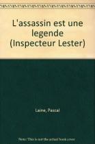 """Couverture du livre : """"L'assassin est une légende"""""""