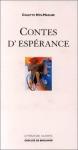 """Couverture du livre : """"Contes d'espérance"""""""