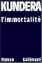 """Couverture du livre : """"L'immortalité"""""""