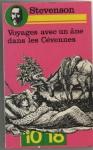 """Couverture du livre : """"Voyages avec un âne dans les Cévennes"""""""