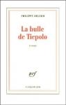 """Couverture du livre : """"La bulle de Tiepolo"""""""