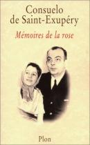 """Couverture du livre : """"Mémoires de la rose"""""""