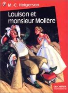 """Couverture du livre : """"Louison et monsieur Molière"""""""
