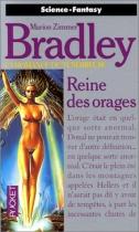 """Couverture du livre : """"Reine des orages"""""""
