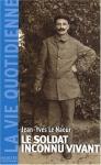 """Couverture du livre : """"Le soldat inconnu vivant"""""""