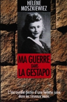 """Couverture du livre : """"Ma guerre dans la Gestapo"""""""
