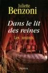 """Couverture du livre : """"Dans le lit des reines"""""""