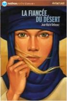 """Couverture du livre : """"La fiancée du désert"""""""