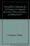 """Couverture du livre : """"Versailles"""""""