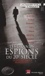 """Couverture du livre : """"Les grands espions du XXe siècle"""""""