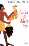 """Couverture du livre : """"La loi du désert"""""""