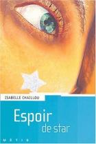 """Couverture du livre : """"Espoir de star"""""""