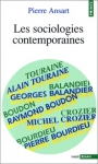 """Couverture du livre : """"Les sociologies contemporaines"""""""