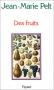 """Couverture du livre : """"Des fruits"""""""