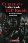 """Couverture du livre : """"Curieuses histoires du IIIe Reich"""""""
