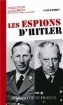 """Couverture du livre : """"Les espions d'Hitler"""""""