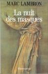 """Couverture du livre : """"La nuit des masques"""""""