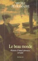 """Couverture du livre : """"Le beau monde"""""""