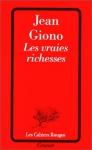 """Couverture du livre : """"Les vraies richesses"""""""