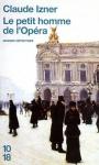 """Couverture du livre : """"Le petit homme de l'opéra"""""""