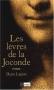 """Couverture du livre : """"Les lèvres de la Joconde"""""""