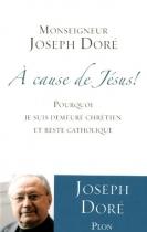"""Couverture du livre : """"À cause de Jésus !"""""""