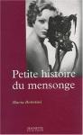 """Couverture du livre : """"Petite histoire du mensonge"""""""
