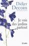 """Couverture du livre : """"Je vois des jardins partout"""""""