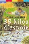 """Couverture du livre : """"35 kilos d'espoir"""""""