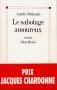 """Couverture du livre : """"Le sabotage amoureux"""""""