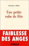 """Couverture du livre : """"Une petite robe de fête"""""""