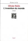 """Couverture du livre : """"L'invention du monde"""""""