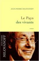 """Couverture du livre : """"Le pays des vivants"""""""