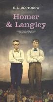 """Couverture du livre : """"Homer & Langley"""""""