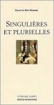 """Couverture du livre : """"Singulières et plurielles"""""""